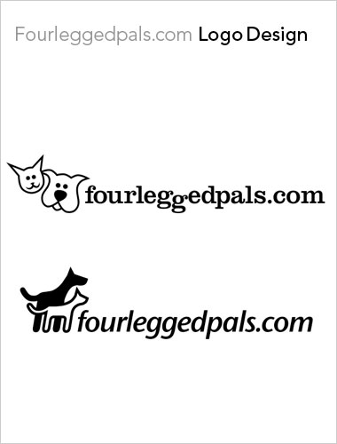 Four Legged Pals Logo Design