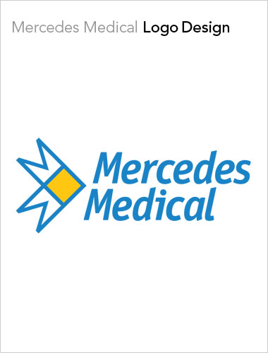 Mercedes Medical Logo Design